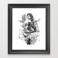 VANITY Framed Art Print