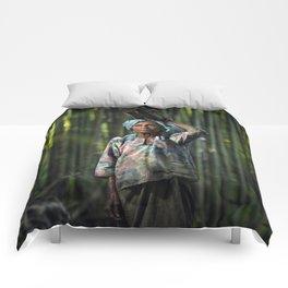Grandmother 01 Comforters