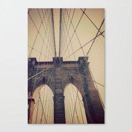 Brooklyn Web Canvas Print