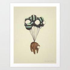 Muerte Desde El Cielo, I (El Oso) Art Print