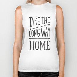 TAKE THE LONG WAY Biker Tank