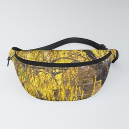 Weeping Willow in the Fall Fanny Pack