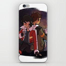 Klance in the space iPhone Skin