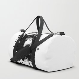 Monkey Business - White Duffle Bag
