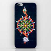 chakra iPhone & iPod Skins featuring Muladhara Chakra by DiskoGalerie