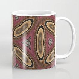 Splitting yellow Cell Pattern Coffee Mug