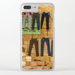 Varanasi Geometry X Clear iPhone Case