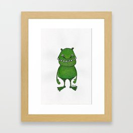 linkodo, flibbity beast Framed Art Print