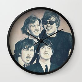 Beatle - John, Paul, George, and Ringo Wall Clock