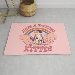 Have A Kitten Rug
