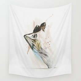 Drift Contemporary Dance Wall Tapestry