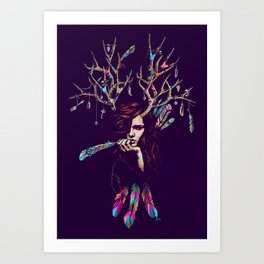 Wiccarious Art Print