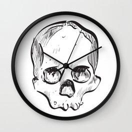 Clumsy Skull Wall Clock