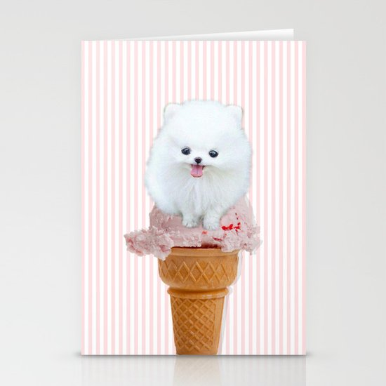 Two scoops Stationery Cards