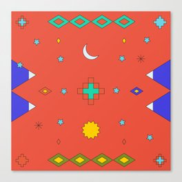 South America Dreaming Canvas Print