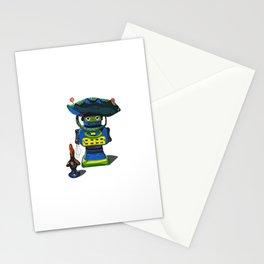 Robot-Bob Stationery Cards