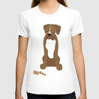 boxer T-shirts featuring Boxer by digital-couture
