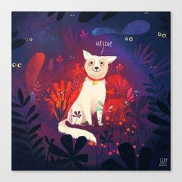 Lost Pupper Canvas Print