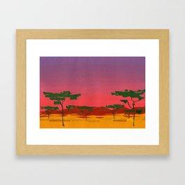 Savannah #1 Framed Art Print