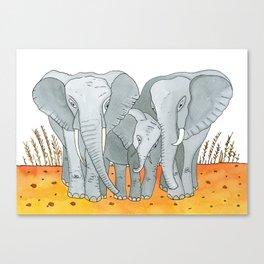 Noah's Ark - Elephant Canvas Print