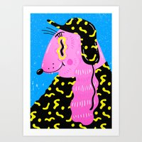 camouflage Art Prints featuring Camouflage by Madelen Foss