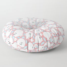 Circle Seal Floor Pillow