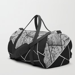 Yin Yang Marble Geometric Glam #2 #geo #decor #art #society6 Duffle Bag