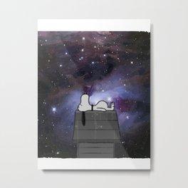 snoopy dreams Metal Print