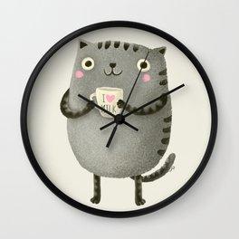 I♥milk Wall Clock
