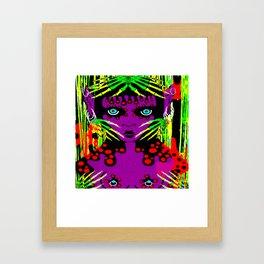 purple imp Framed Art Print