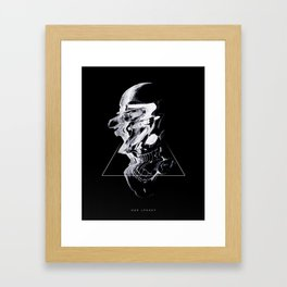 We wilt we fold our tales untold Framed Art Print