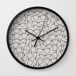 Occhiali Wall Clock