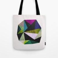 emerald Tote Bags featuring Emerald by Georgiana Paraschiv