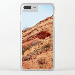 Sandy Knoll Clear iPhone Case