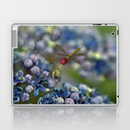 The March hare and the dragonfly in the abyss Laptop & iPad Skin