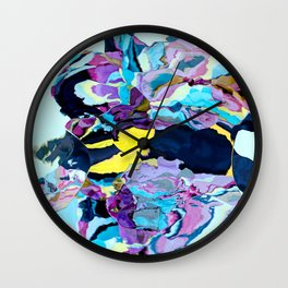Lost my banana in the pool Wall Clock