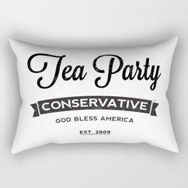 Tea Party Conservative Rectangular Pillow