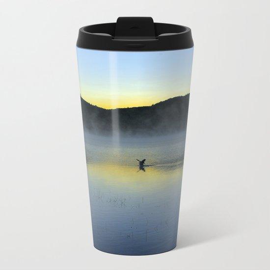 Perfect Landing (Sunrise, Lake George) Metal Travel Mug