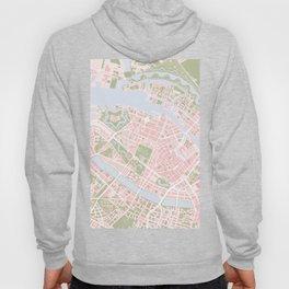 Copenhagen map vintage Hoody