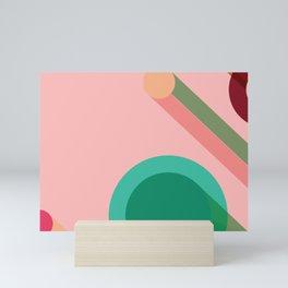 Abstract geometry print Mini Art Print