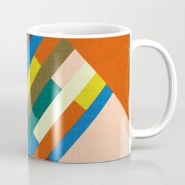 Meridian Orange #homedecor #midcenturymodern #midcentury Coffee Mug