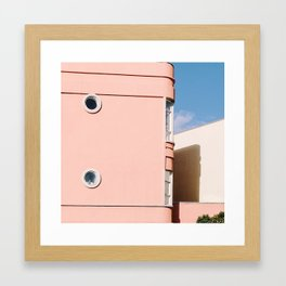 Thinking Pink in San Francisco Framed Art Print