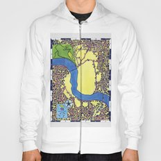 Tiny Underdog City Map Hoody