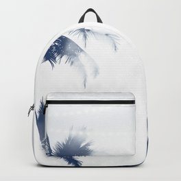 Palm Trees White Lights Backpack