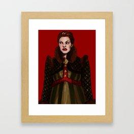 Marya is Old School Framed Art Print