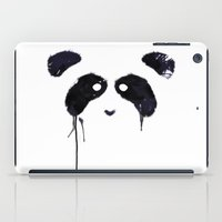 panda iPad Cases featuring Panda by Tobe Fonseca