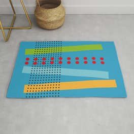 Abstract Geometric Minimal Stairway and Net Rug