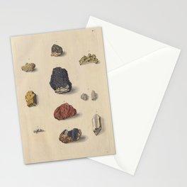 Vintage Minerals Stationery Cards