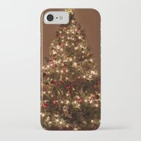 christmas tree iPhone & iPod Cases featuring Christmas tree. by Assiyam