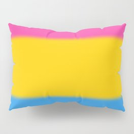 Pansexual Pride Flag Pillow Sham